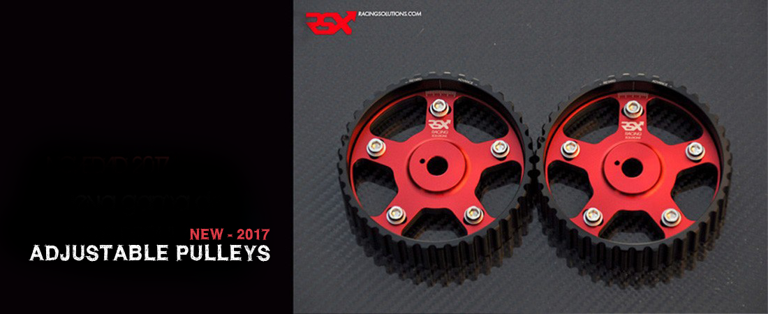 Adjustable pulleys RSX